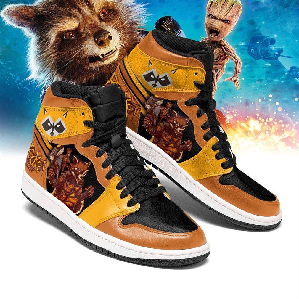Rocket Raccoon Marvel Air Jordan Shoes Sport V3 Sneaker Boots Shoes