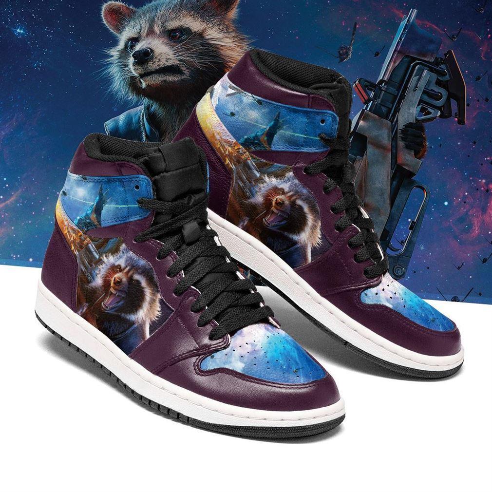 Rocket Raccoon Marvel Air Jordan Shoes Sport Sneaker Boots Shoes