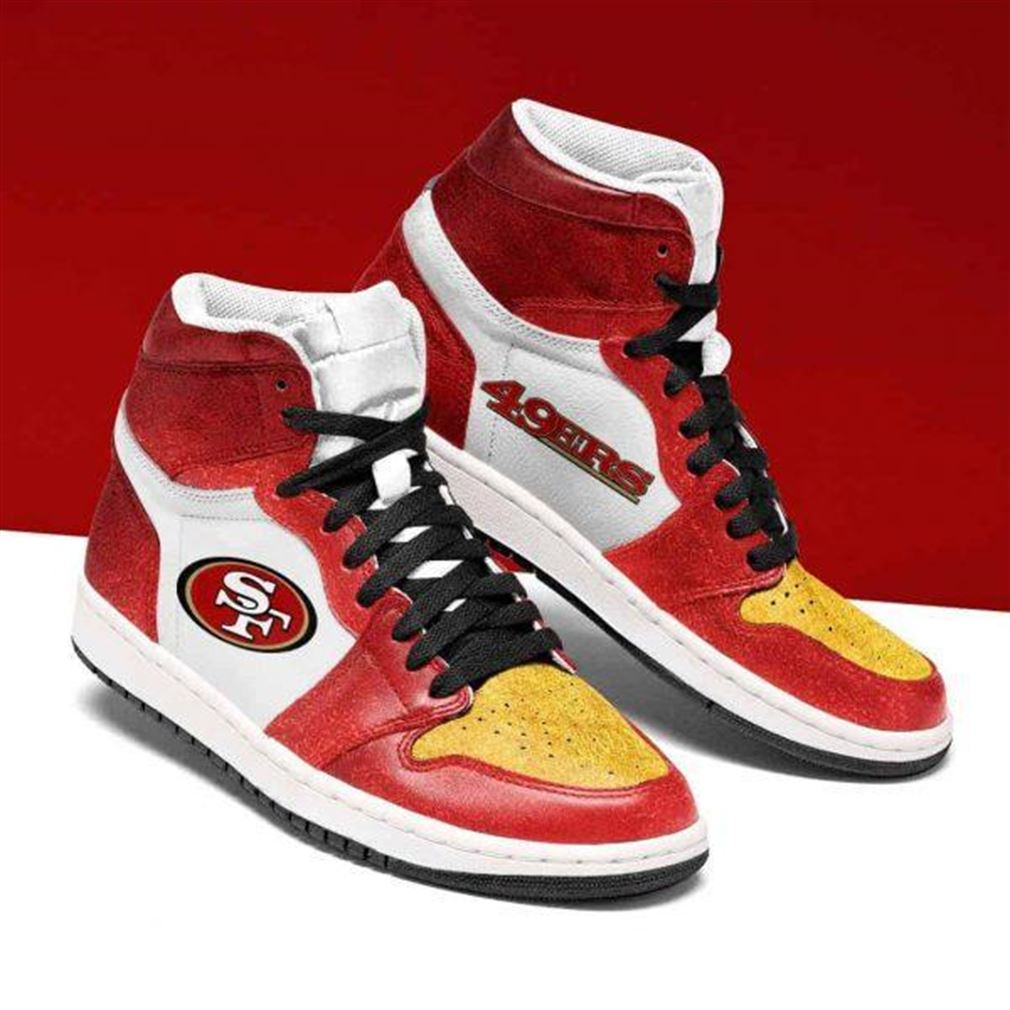 San Francisco 49ers Nfl Football Air Jordan Shoes Sport V3 Sneaker Boots Shoes