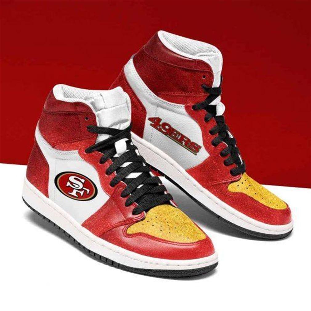 San Francisco 49ers Nfl Football Air Jordan Shoes Sport Sneaker Boots Shoes