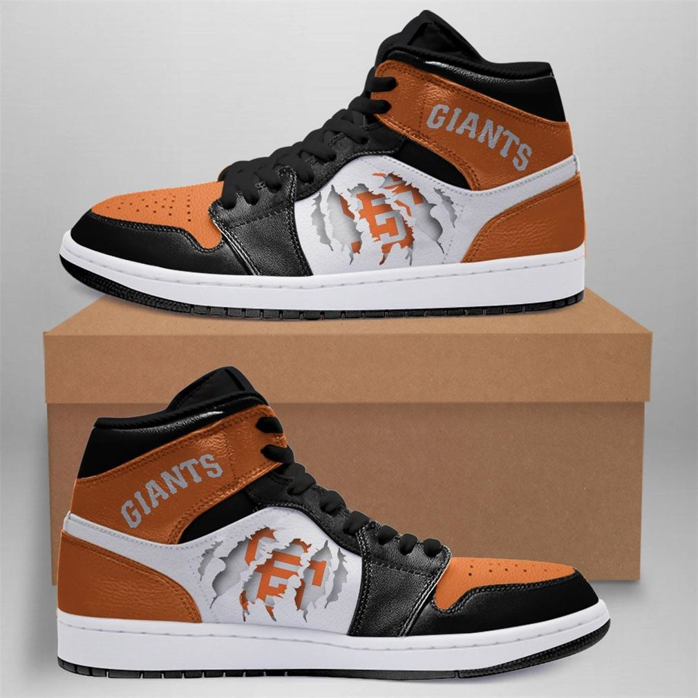 San Francisco Giants Mlb Air Jordan Shoes Sport Outdoor Sneaker Boots Shoes