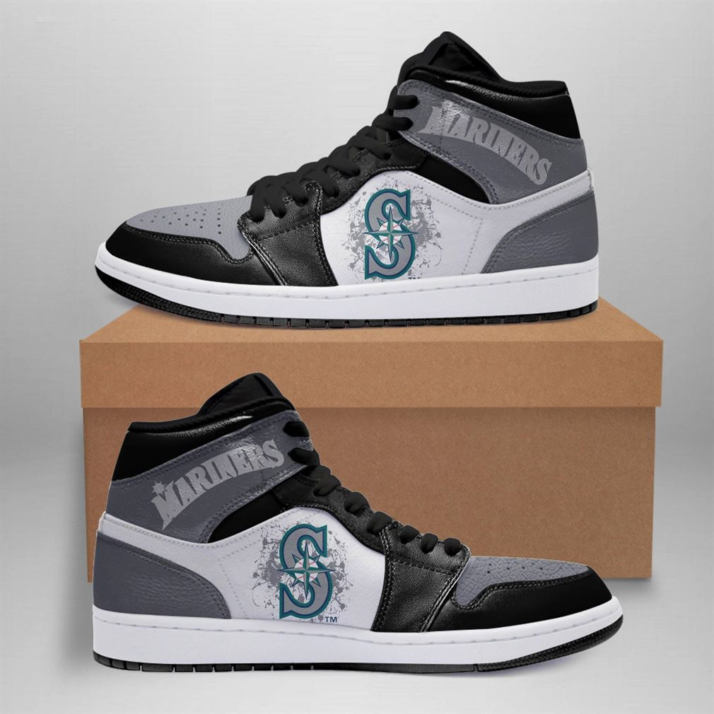 Seattle Mariners Mlb Air Jordan Basketball Shoes Sport Sneaker Boots Shoes