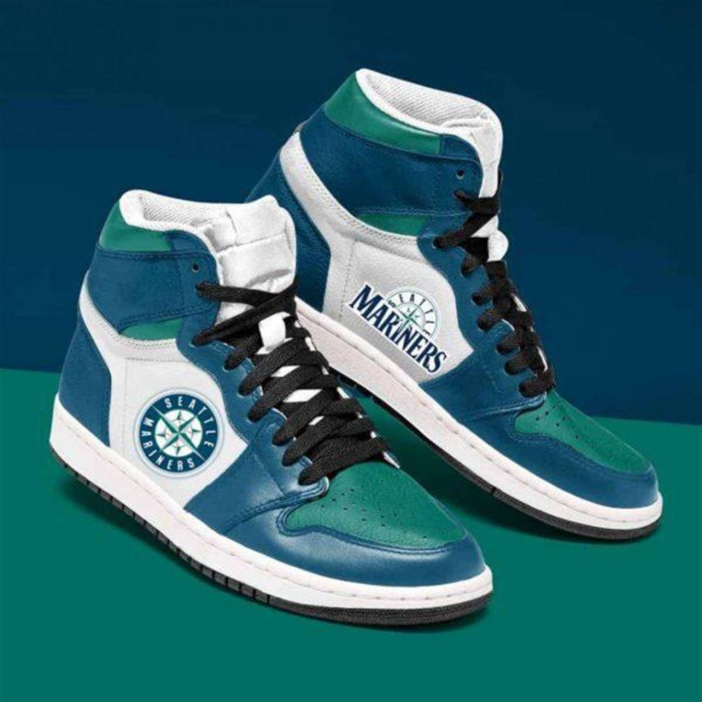 Seattle Mariners Mlb Baseball Air Jordan Shoes Sport Sneaker Boots Shoes