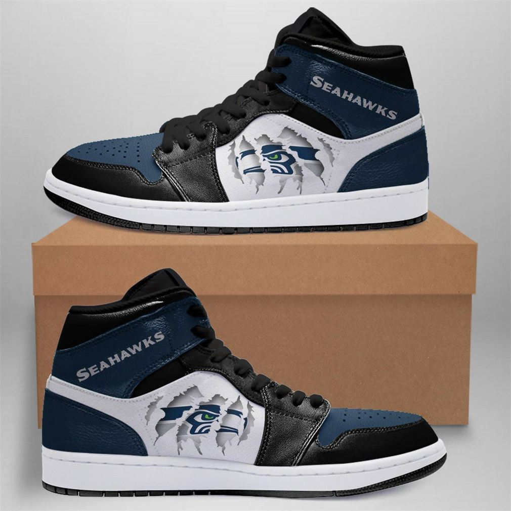 Seattle Seahawks Nfl Air Jordan Shoes Sport Sneaker Boots Shoes