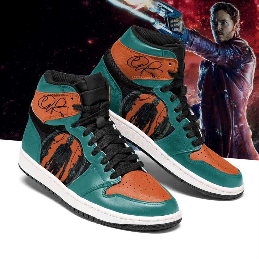 Star Lord Marvel Air Jordan Shoes Sport Sneaker Boots Shoes