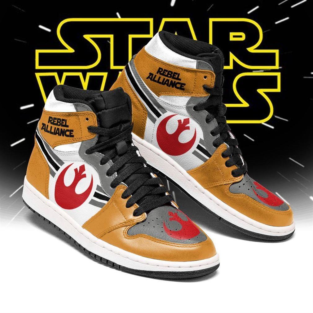 Star War Rebel Alliance Air Jordan Shoes Sport Sneaker Boots Shoes