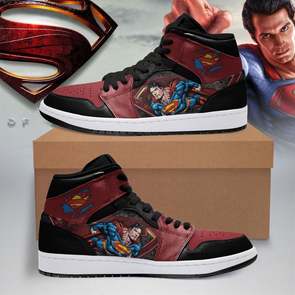 Superman Dc Comics Air Jordan Shoes Sport V2 Sneaker Boots Shoes
