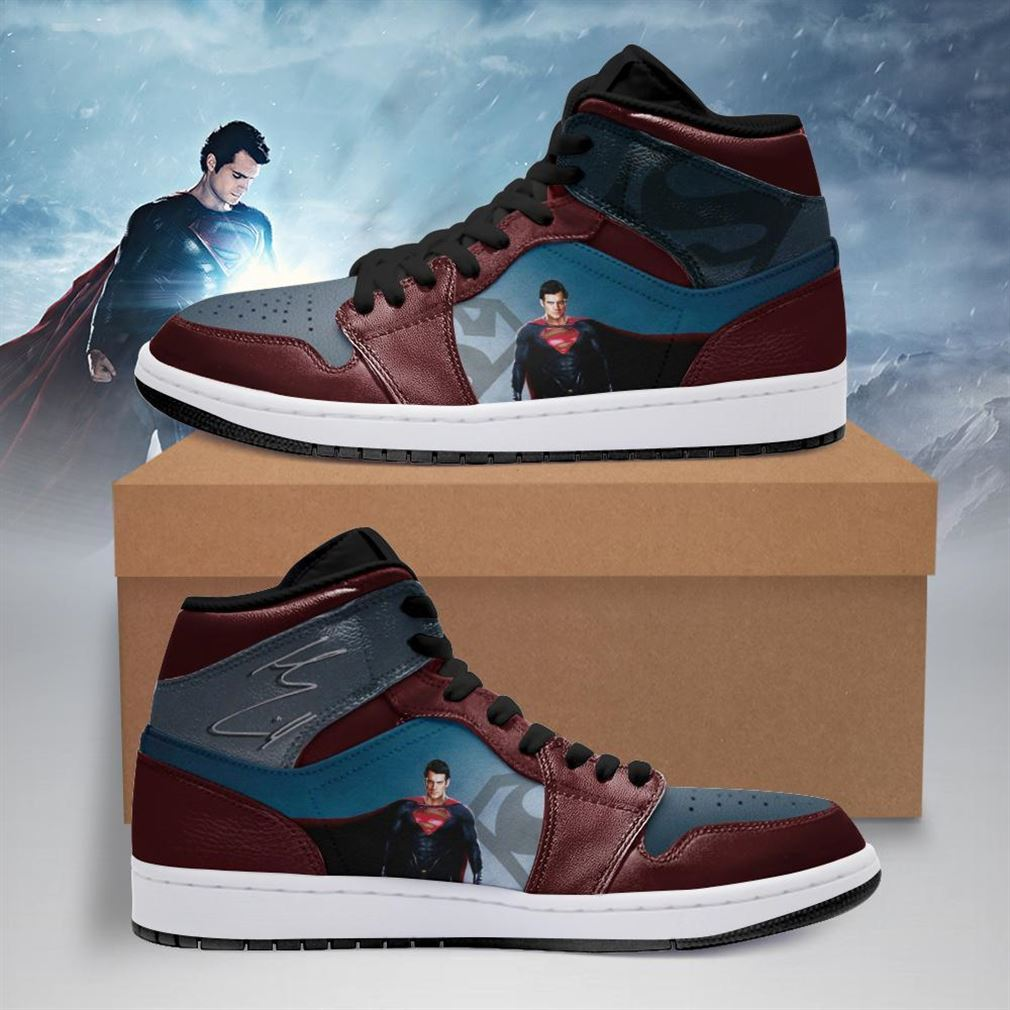Superman Dc Comics Air Jordan Shoes Sport Sneaker Boots Shoes
