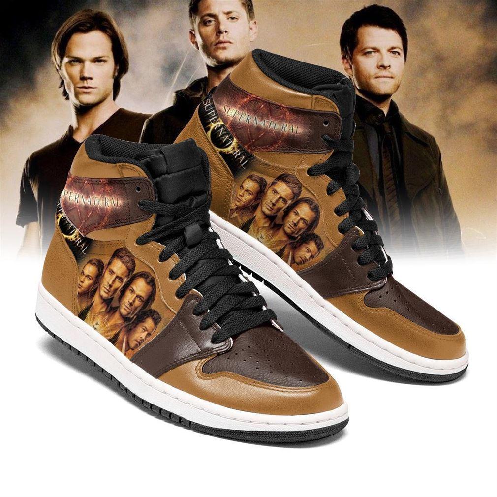 Supernatural Tv Series Air Jordan Shoes Sport Sneaker Boots Shoes