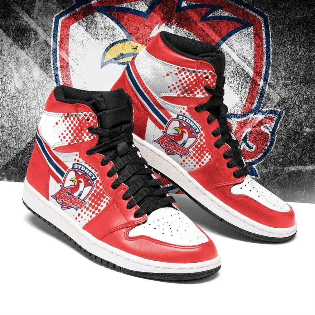 Sydney Roosters Nrl Air Jordan Shoes Sport Sneaker Boots Shoes