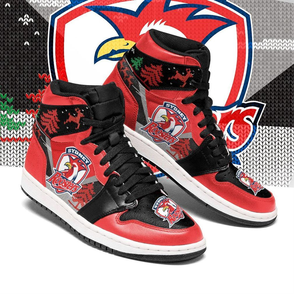 Sydney Roosters Nrl Football Air Jordan Shoes Sport V3 Sneaker Boots Shoes