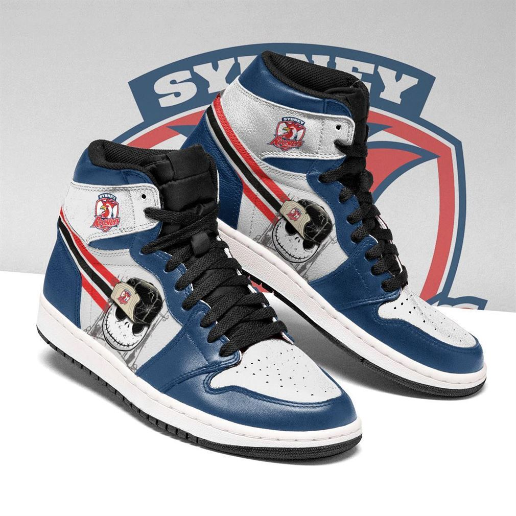 Sydney Roosters Nrl Football Air Jordan Shoes Sport Sneaker Boots Shoes