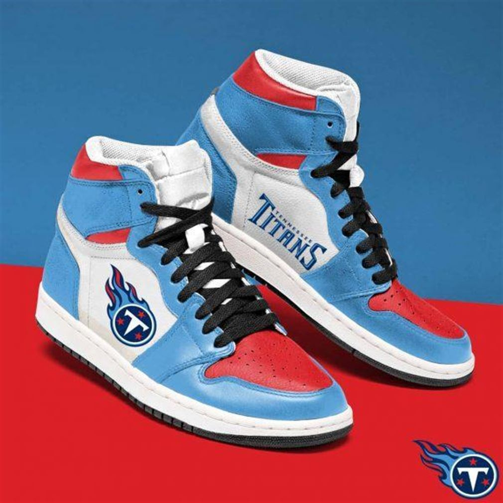 Tennessee Titans Nfl Football Air Jordan Shoes Sport Sneaker Boots Shoes