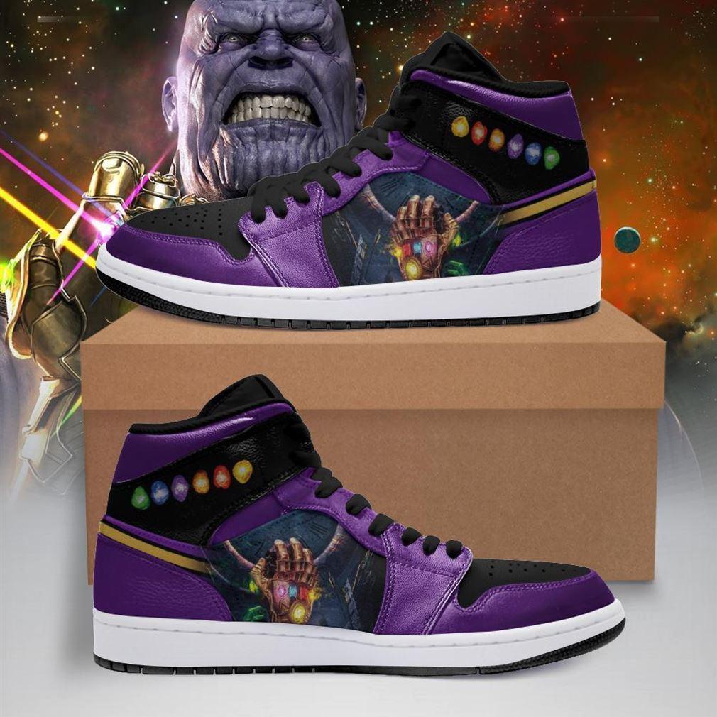 Thanos Marvel Air Jordan Shoes Sport V3 Sneaker Boots Shoes