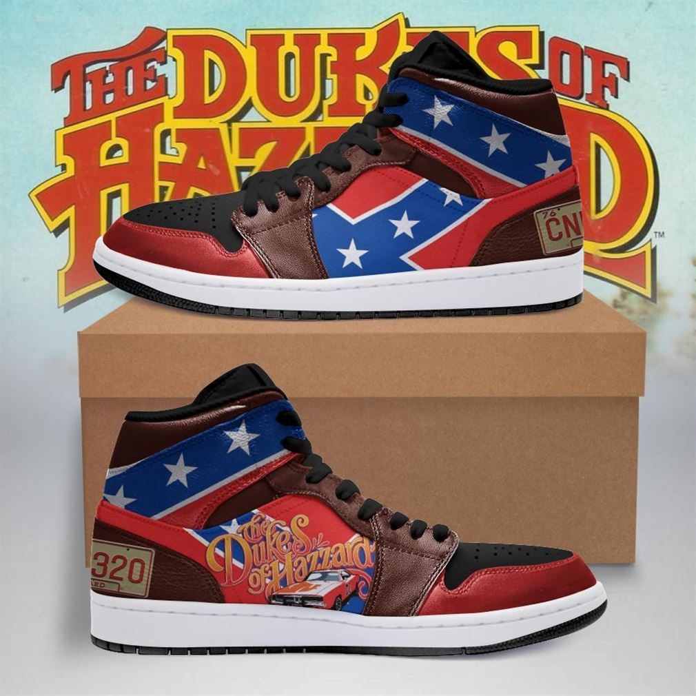 The Dukes Of Hazzard Air Jordan Shoes Sport Sneaker Boots Shoes