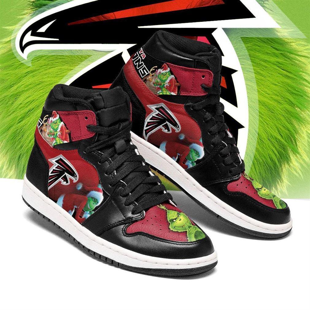 The Grinch Atlanta Falcons Nfl Air Jordan Shoes Sport Sneaker Boots Shoes