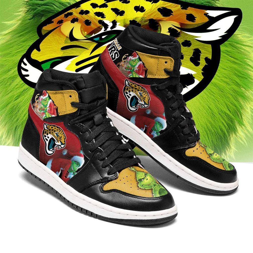 The Grinch Jacksonville Jaguars Nfl Air Jordan Shoes Sport Sneaker Boots Shoes