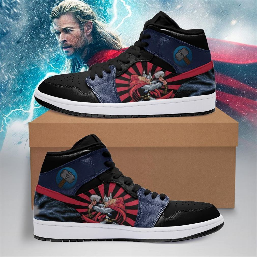 Thor Marvel Air Jordan Shoes Sport Sneaker Boots Shoes