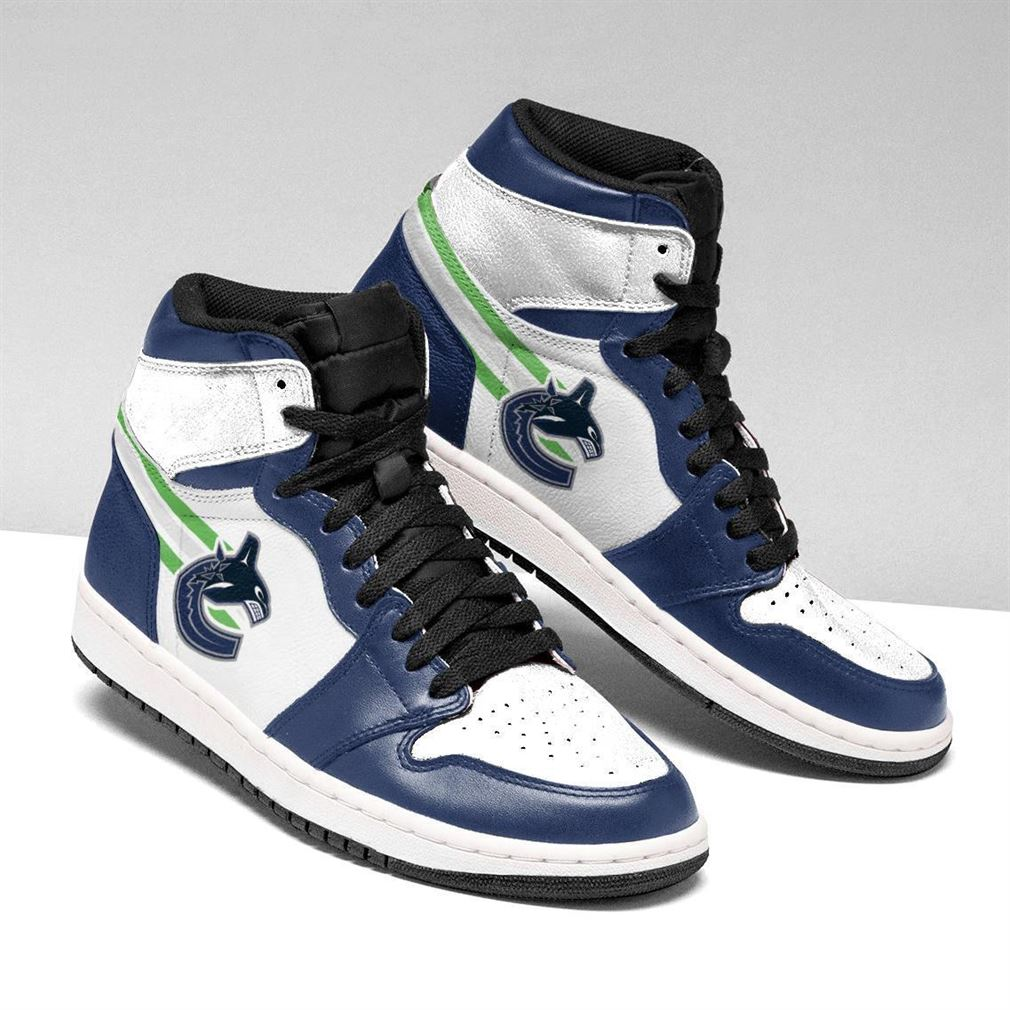 Vancouver Canucks Nhl Air Jordan Shoes Sport Sneaker Boots Shoes