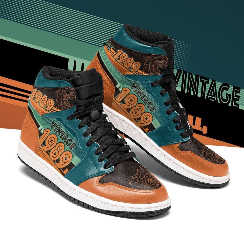 Vintage 1989 Air Jordan Shoes Sport Sneaker Boots Shoes