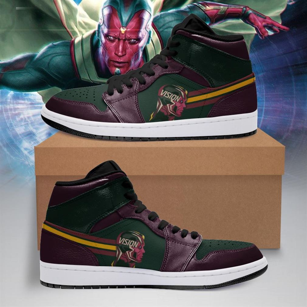 Vision Marvel Air Jordan Shoes Sport V2 Sneaker Boots Shoes