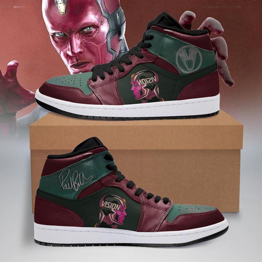 Vision Marvel Air Jordan Shoes Sport Sneaker Boots Shoes