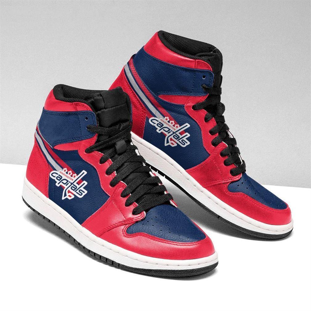 Washington Capitals Nhl Air Jordan Shoes Sport Sneaker Boots Shoes