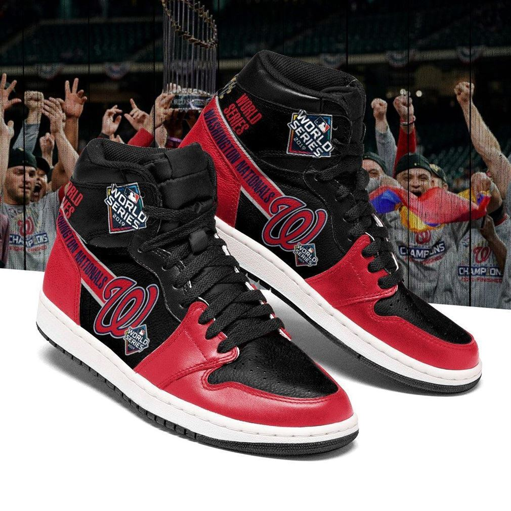 Washington Nationals Mlb Air Jordan Shoes Sport Sneaker Boots Shoes