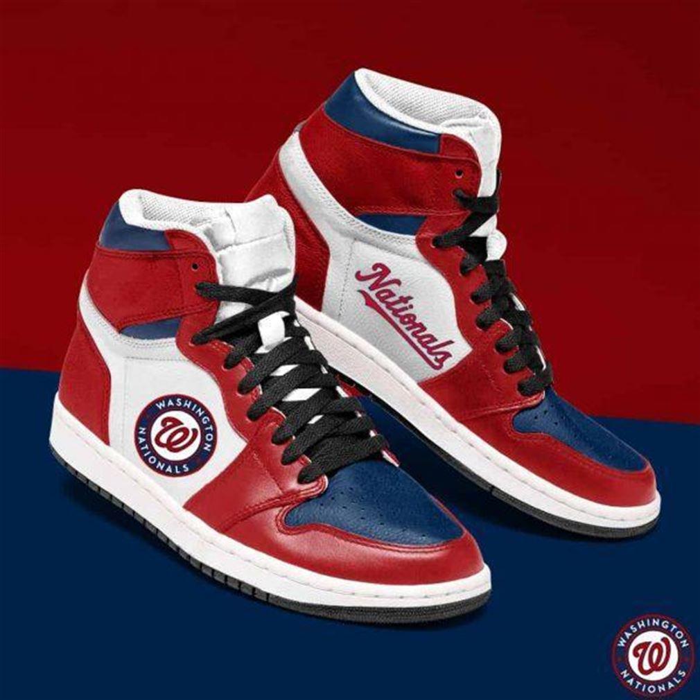 Washington Nationals Mlb Baseball Air Jordan Shoes Sport Sneaker Boots Shoes