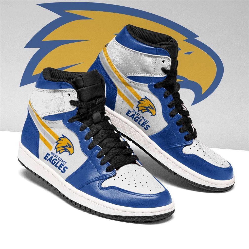 West Coast Eagles Afl Air Jordan Shoes Sport Sneaker Boots Shoes