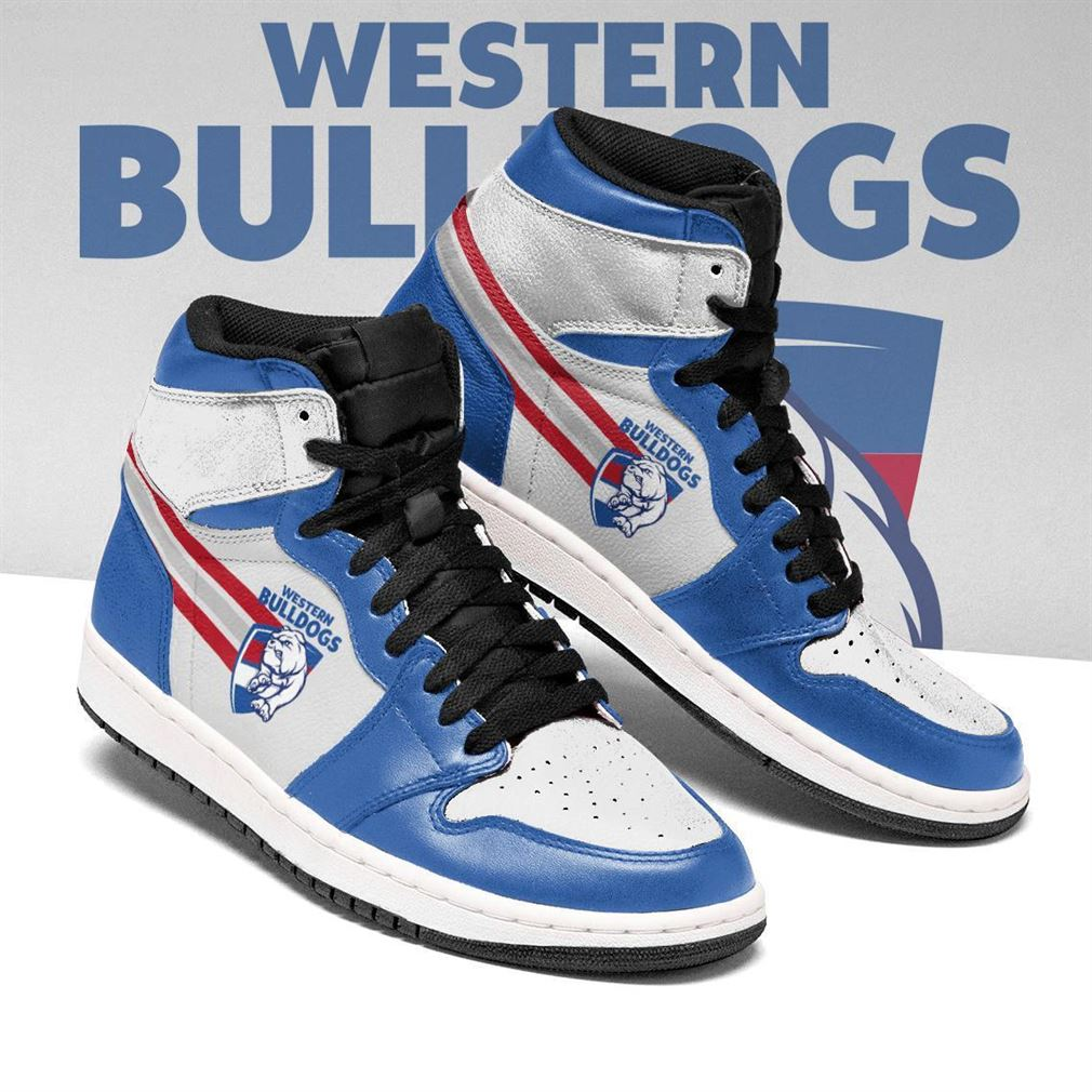 Western Bulldogs Afl Air Jordan Shoes Sport Sneaker Boots Shoes