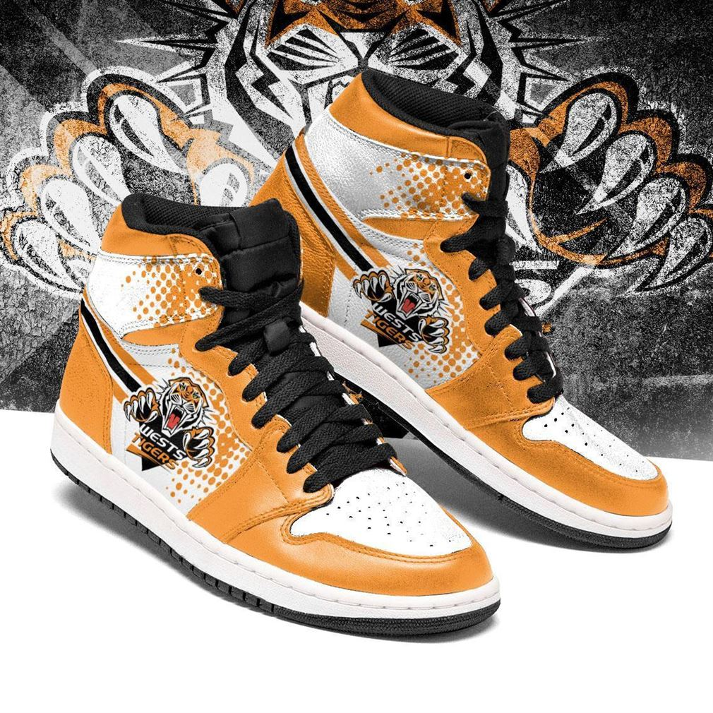 Wests Tigers Nrl Air Jordan Shoes Sport Sneaker Boots Shoes