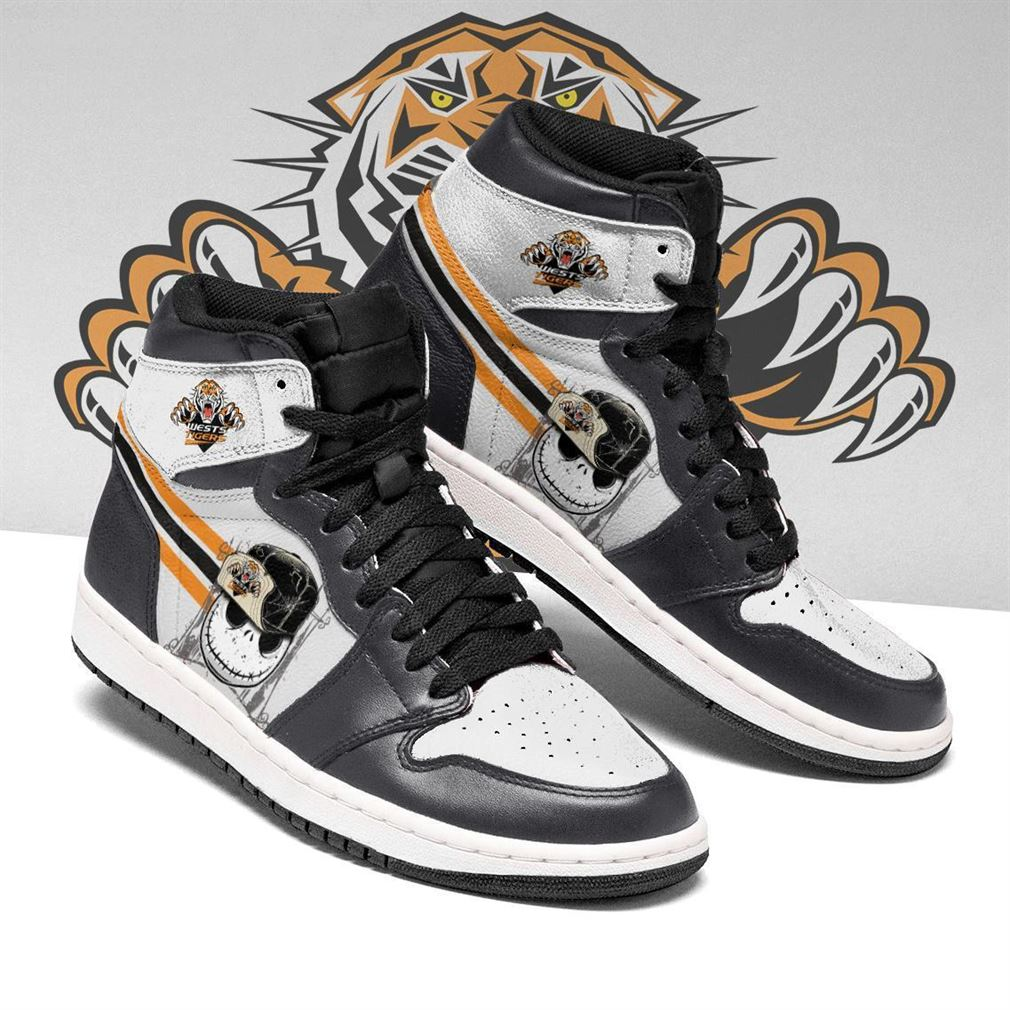 Wests Tigers Nrl Football Air Jordan Shoes Sport Sneaker Boots Shoes