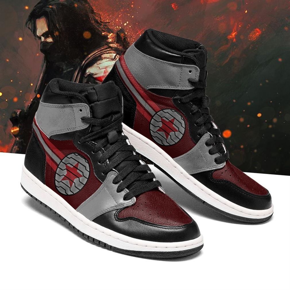 Winter Soldier Marvel Air Jordan Shoes Sport V2 Sneaker Boots Shoes