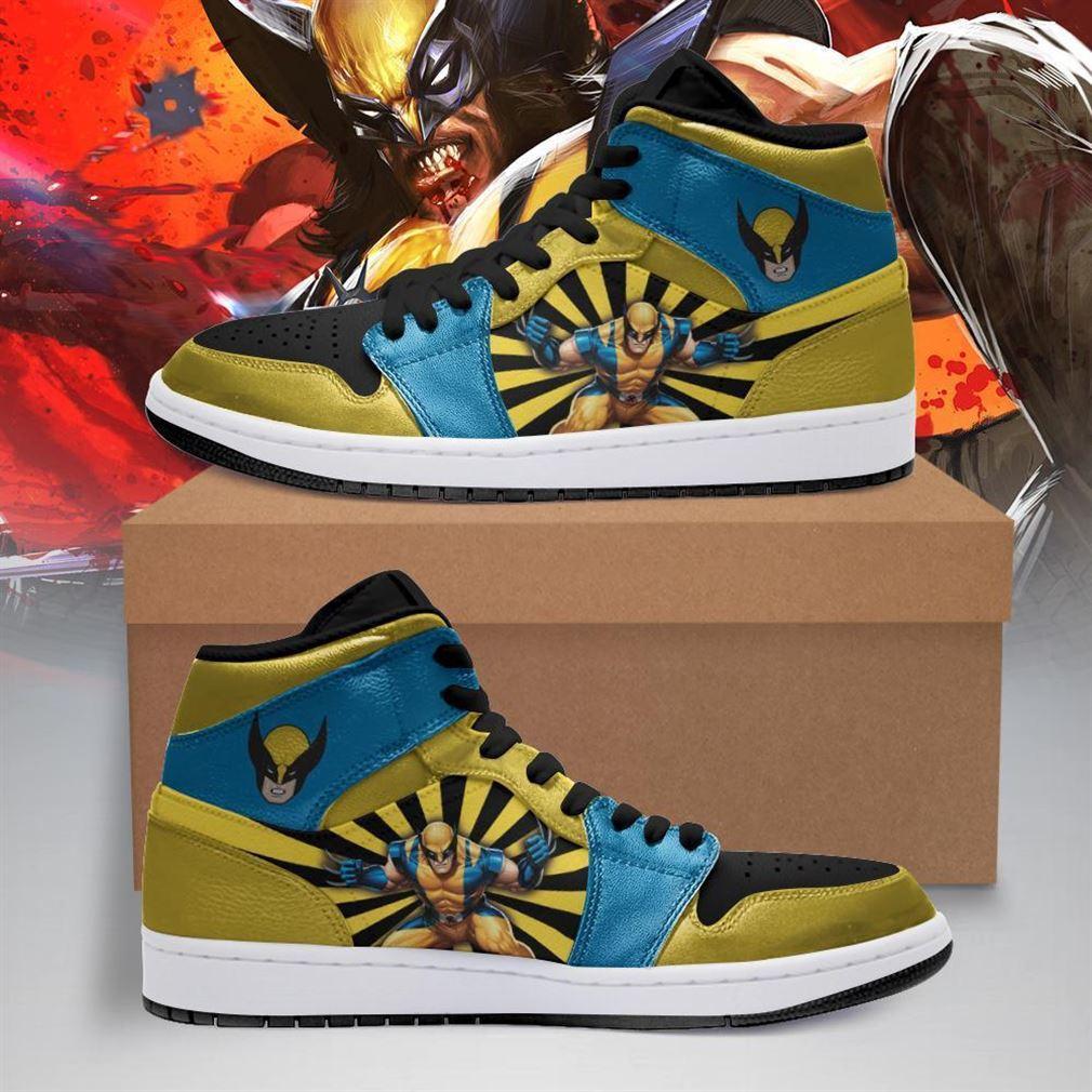 Wolverine Marvel Air Jordan Shoes Sport V2 Sneaker Boots Shoes