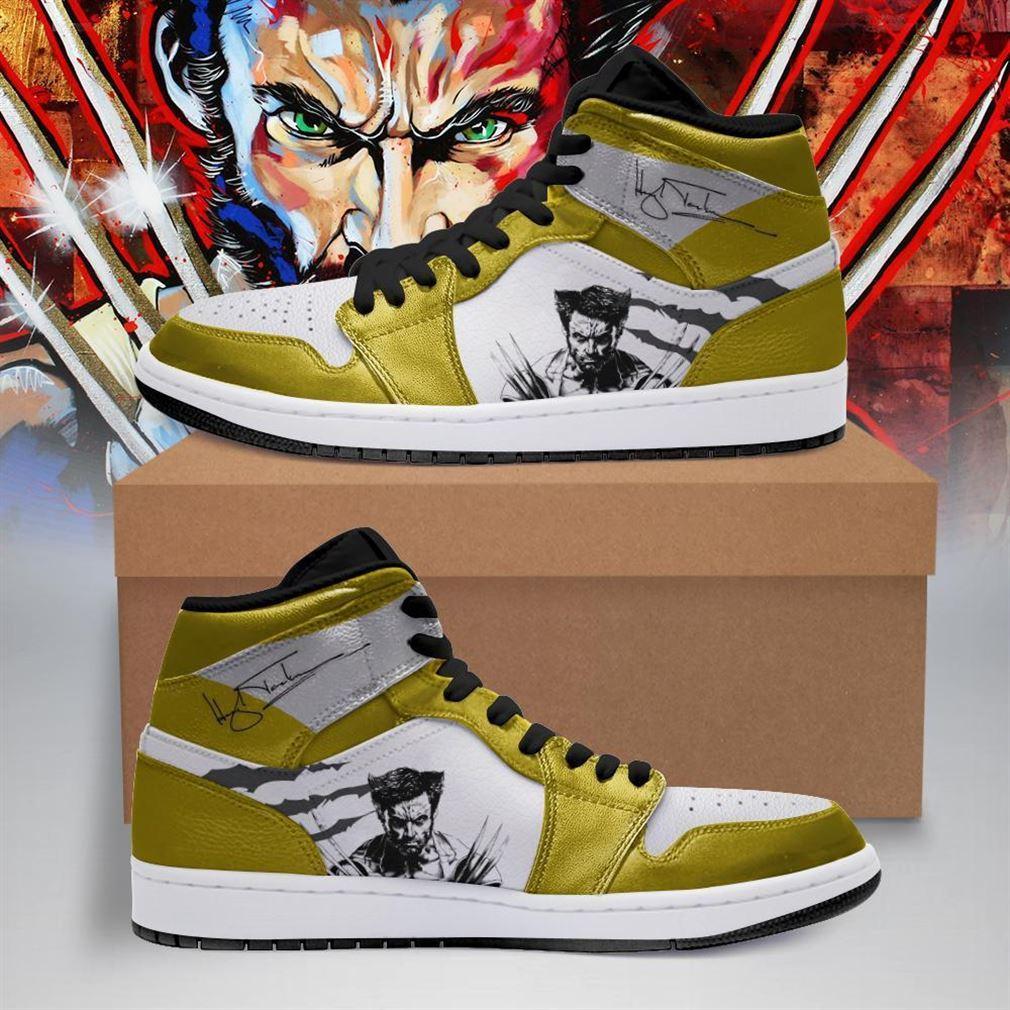 Wolverine Marvel Air Jordan Shoes Sport Sneaker Boots Shoes