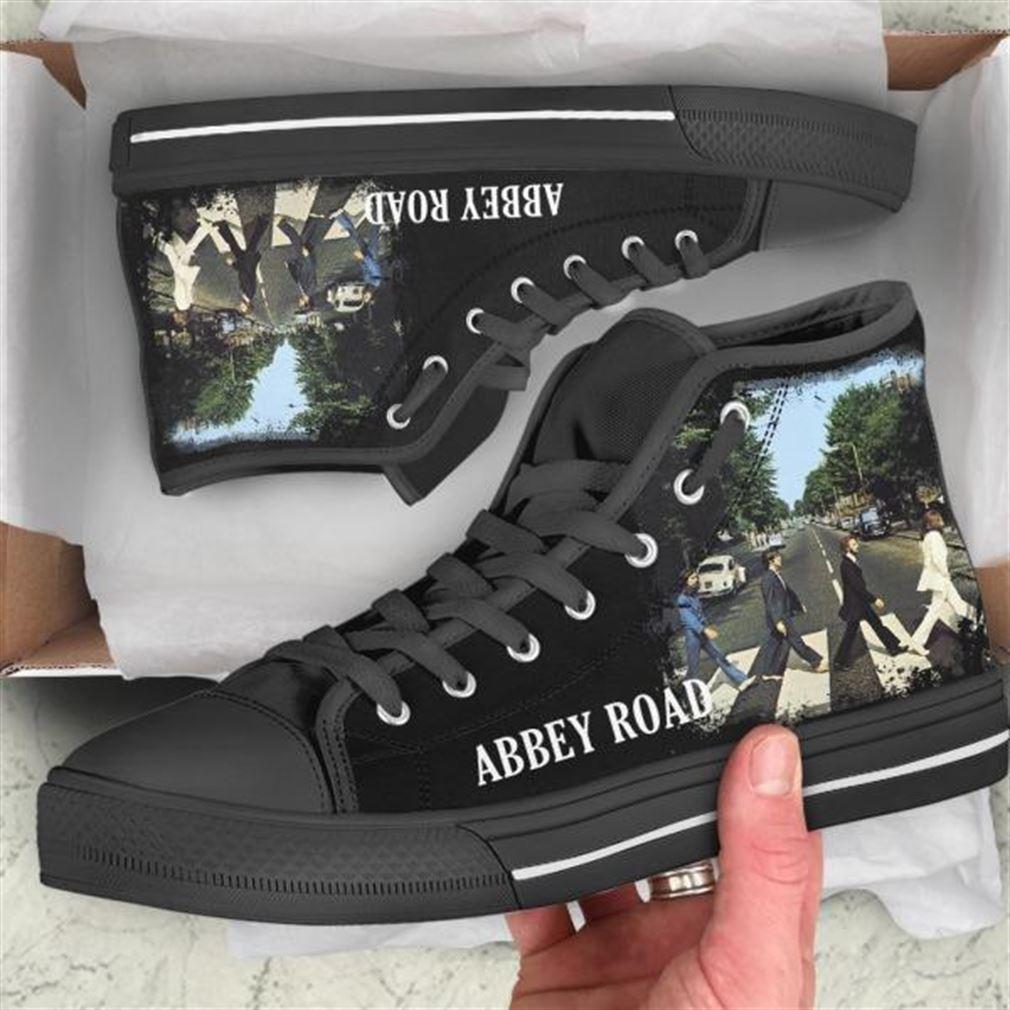Abbey Road High Top Vans Shoes