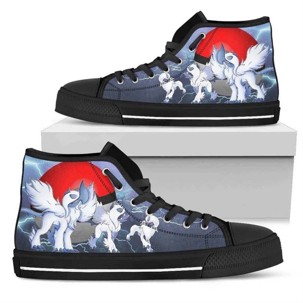 Absol Character High Top Vans Shoes