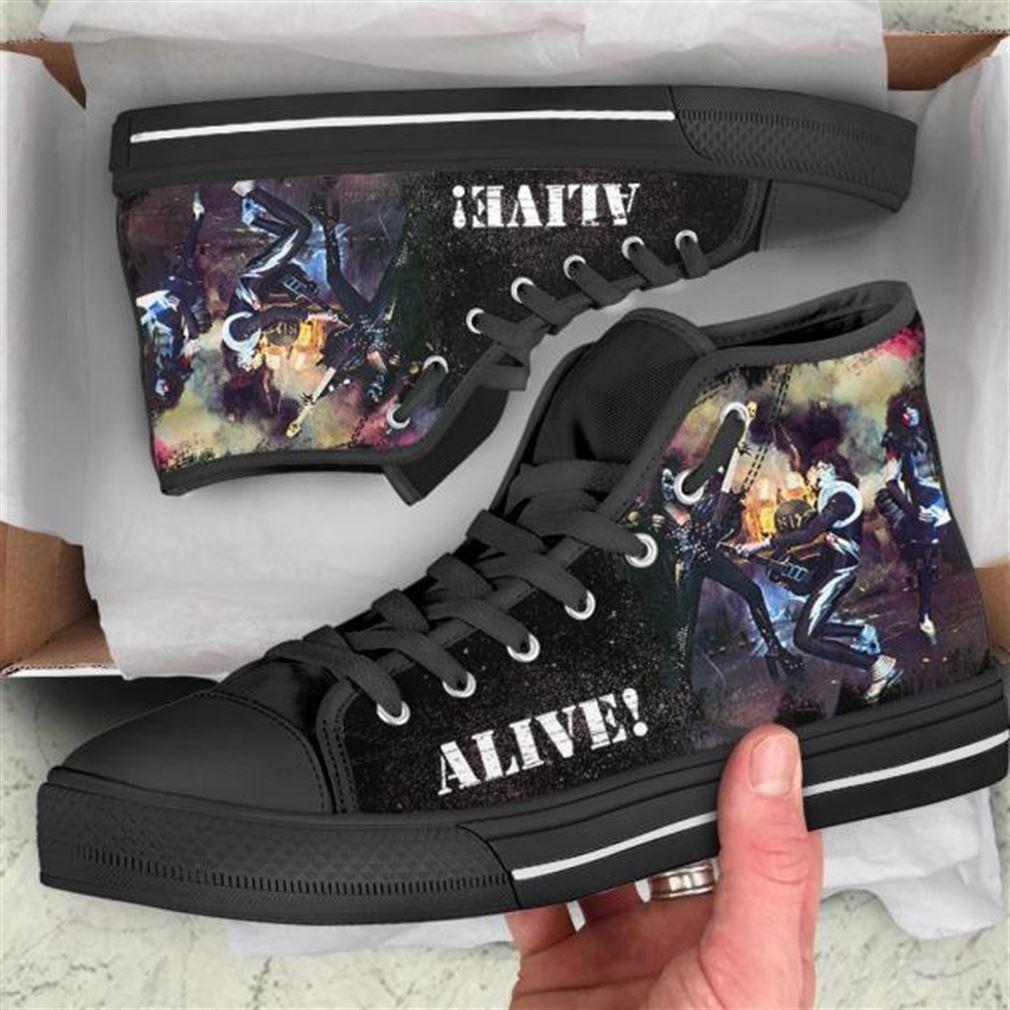 Alive High Top Vans Shoes