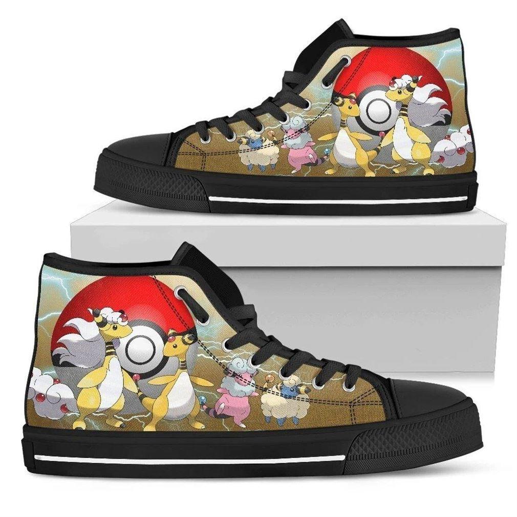 Ampharos High Top Vans Shoes