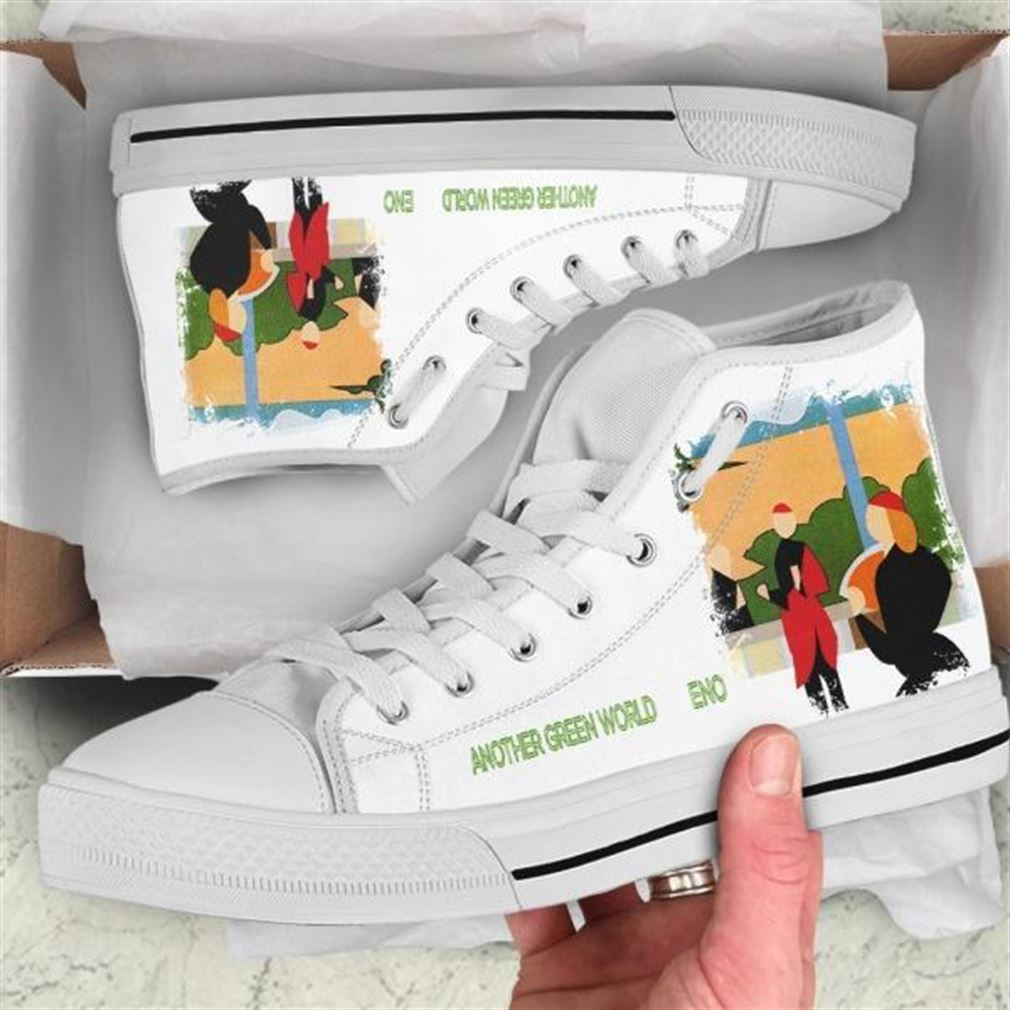 Another Green World High Top Vans Shoes
