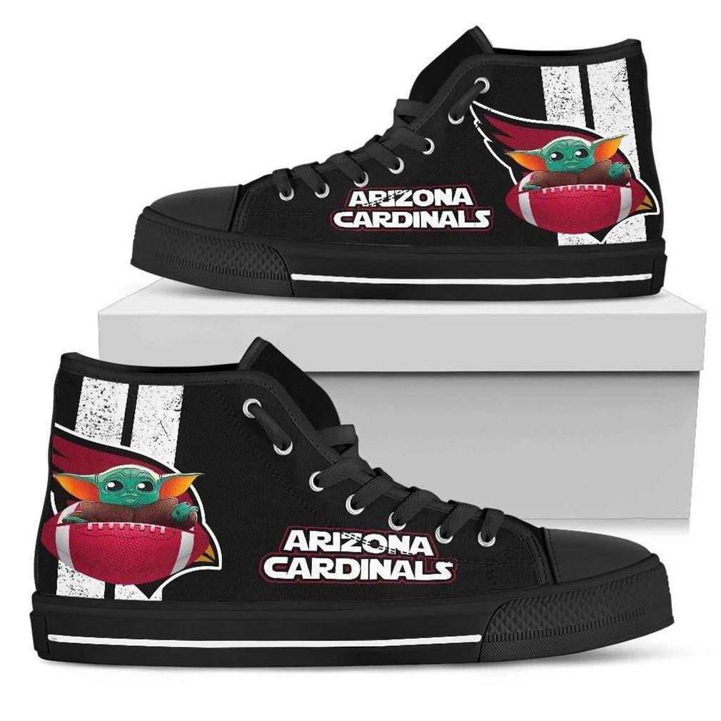 Arizona Cardinals High Top Vans Shoes