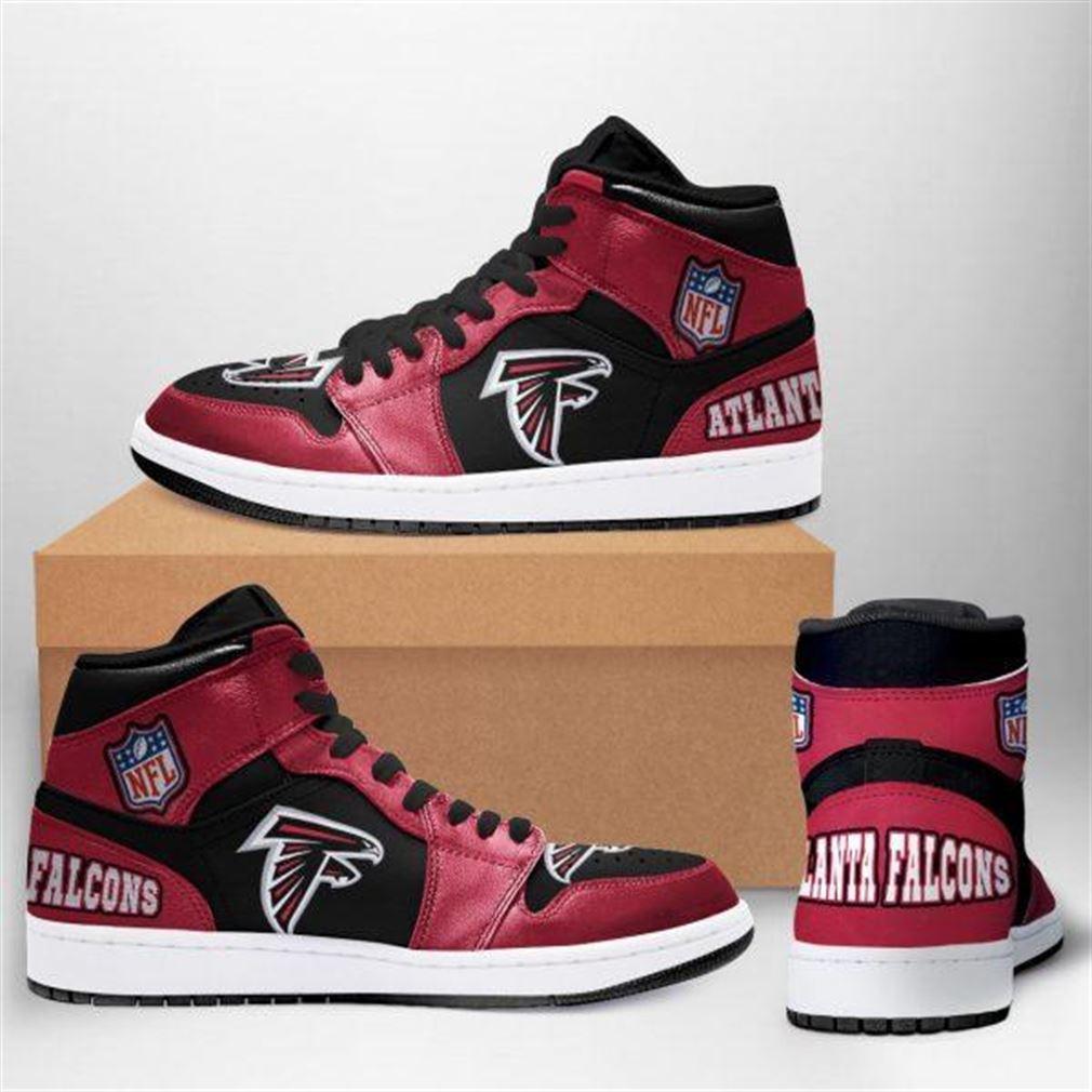 Atlanta Falcons Nfl Football Air Jordan Sneaker Boots Shoes Sport