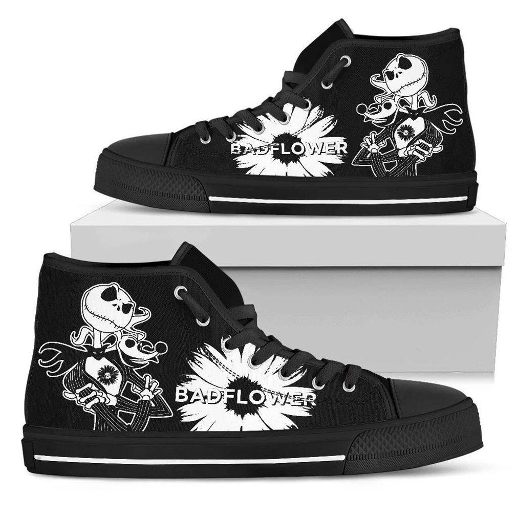 Badflower Rock Band High Top Vans Shoes