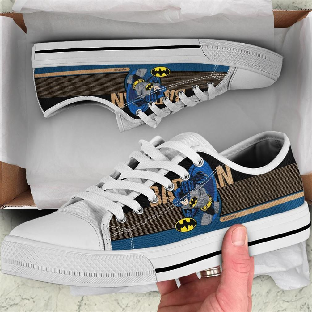 Batman Character Low Top Vans Shoes