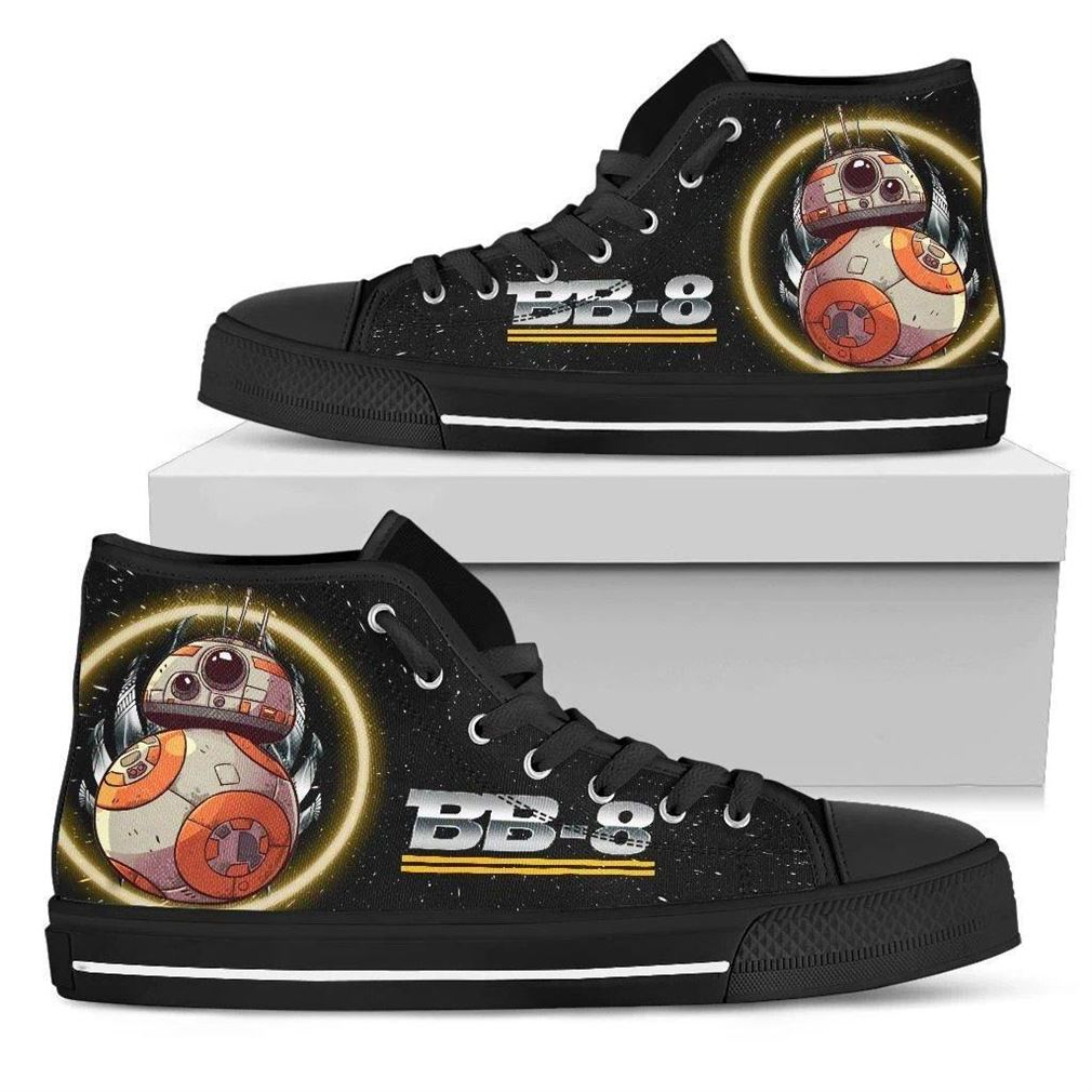 Bb-8 High Top Vans Shoes
