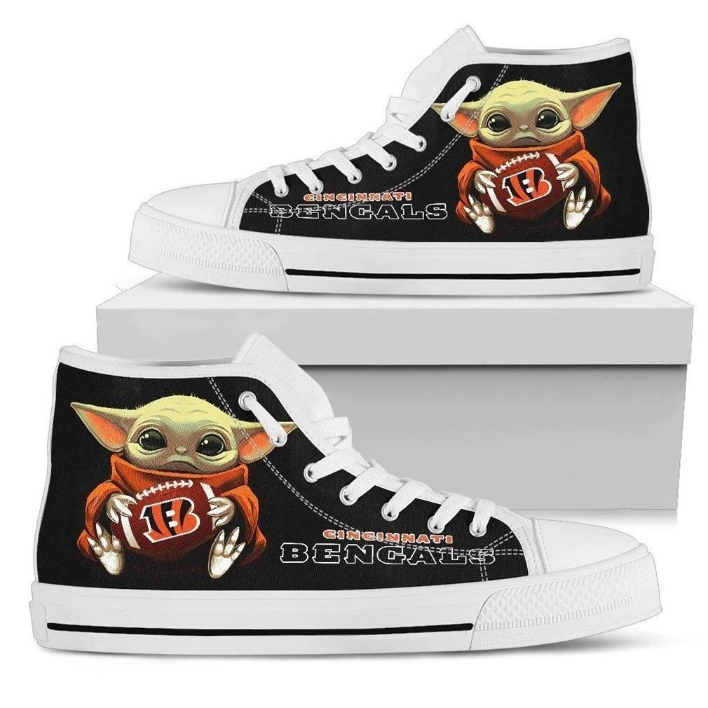 Bengals High Top Vans Shoes