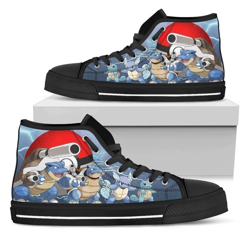 Blastoise High Top Vans Shoes