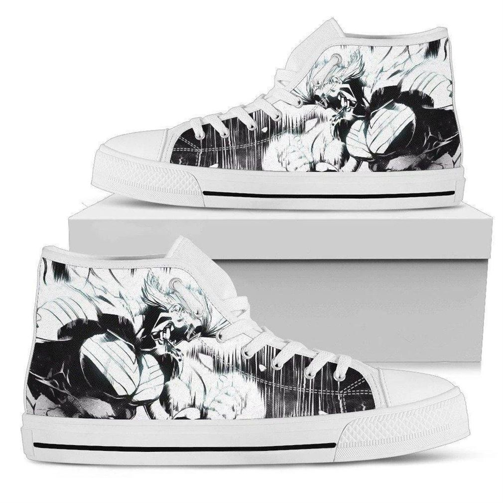Boku No All Might My Hero Academia High Top Vans Shoes