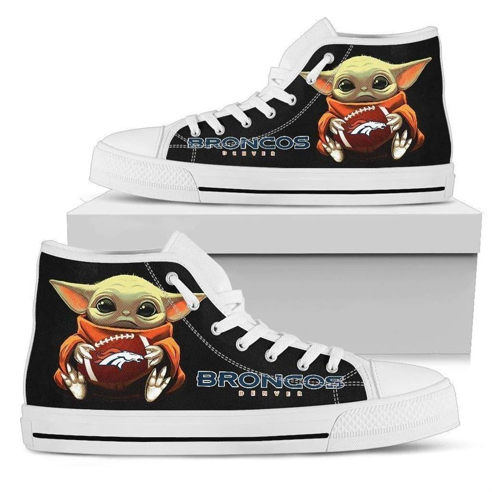 Broncos High Top Vans Shoes